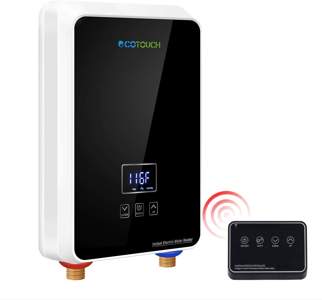 Electric Tankless Water Heater with Wi-fi