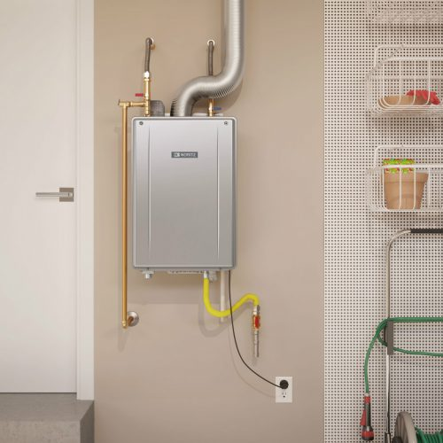 Space saving Tankless Water Heaters